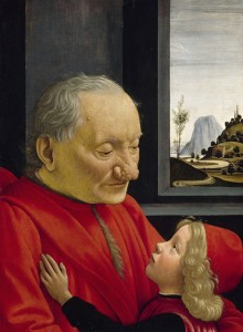Domenico Ghirlandaio,Viejo con su nieto