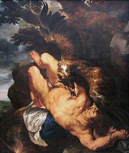 «Prometeo encadenado» - Pedro Pablo Rubens